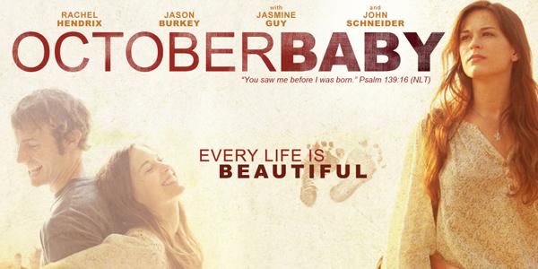 """Film """"October baby"""" 15.10 godz. 19:00"""